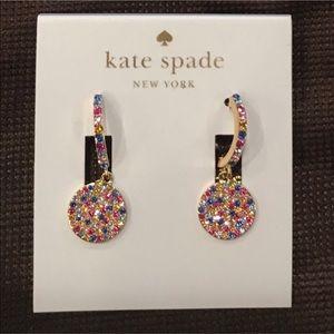 Kate Spade Shine On Pave Drop Earrings